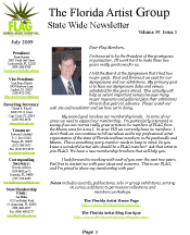 July 2009 Newsletter for FLAG