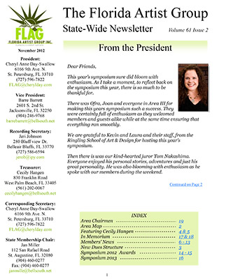 FLAG Newsletter November 2012